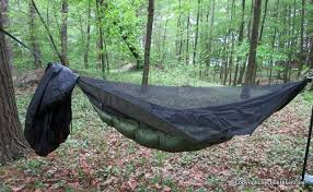 dutchware vented hammock sock review section hikers backpacking blog
