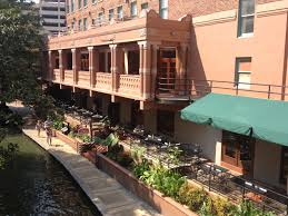 saltgrass steak house on the san antonio riverwalk balcony on
