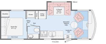 winnebago rialta rv floor plans brave floorplans winnebago rvs