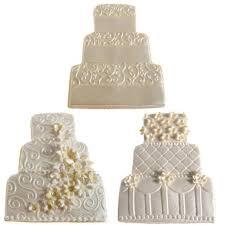 wedding cake cookies wedding cake cookie cutter texture set by autumn carpenter diy