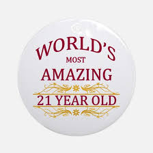 21 years ornament cafepress