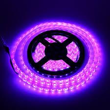 Purple Led Light Strips by 5m Smd 5050 300 Led Rgb Led Strip Light Waterproof 44key Remote