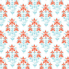 damask wrapping paper seamless floral pattern blue and damask flower background