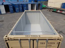 used 20 foot open top high cube shipping containers for sale