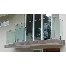 glass balcony railing at rs 1500 foot balcony railing id