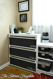 lateral metal file cabinet makeover the interior frugalista
