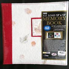 pioneer ez load memory book pioneer scrapbooking albums refills ebay