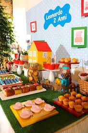peppa pig birthday ideas peppa pig birthday party ideas pig birthday dessert table and
