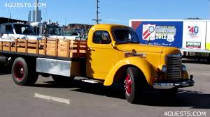 Classic Ford Diesel Truck - truck show historical old vintage trucks youtube