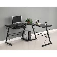 Glass Topped Computer Desk by Black Corner Computer Desk Babytimeexpo Furniture
