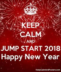 happy new years posters keep calm and jump start 2018 happy new year keep calm and