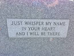 how much is a headstone beautiful i saw this on the back of a grave what a