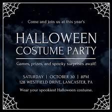 halloween invitations templates halloween party invitation