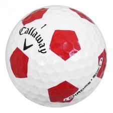 callaw callaway chrome soft truvis used golf balls