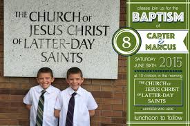 Baptism Invitation Cards Lds Baptism Invitations Lds Baptism Invitations For Twins New