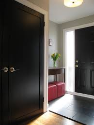 home interior door 11 reasons to paint your interior doors black