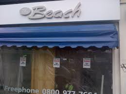 Dutch Awnings Dutch Canopy Covers For New Shop Opening Bramley Blinds And