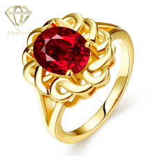 gold jewellery design new arrival hollow flower with big cz