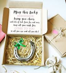 lucky horseshoe gifts lucky horseshoe gift luck horseshoe lucky charm gift for