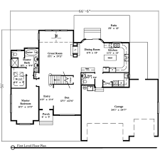 ranch style house plans 3000 square foot home 1 story 4 bedroom