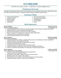 professional summary for administrative assistant best business