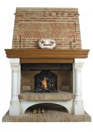 fireplace interesting ideas for living room decoration with brick