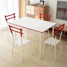 Dining Set Table And Chairs 5 Pcs Dining Set Table And 4 Chairs Home Kitchen Room Breakfast