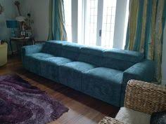 Four Seater Recliner Sofa Binari 3 Seater 68cm Width Seats In Leather Sofa With 3x Electric