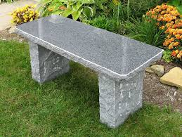 granite benches charcoal granite bench age creations ltd