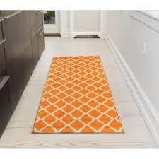 Modern Runner Rug Orange Modern Contemporary Runner Rugs For Less Overstock
