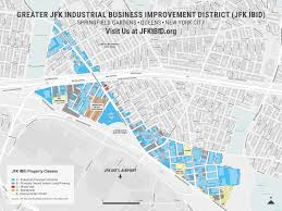 Mta Maps Maps Of The Greater Jfk Ibid District Greater Jfk Industrial