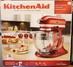 Kitchenaid Artisan Mixer by Kitchenaid Artisan Design Series Stand Mixer Box Opening Youtube