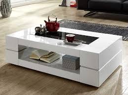 Wohnzimmertisch Mit Schublade Couchtisch Weiß Hochglanz Mit Glasplatte Sera 140x80cm Glastisch