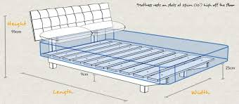 King Bed Frame Measurements Ikea Bed Frame As Luxury For Size Bed Frame Bed Frame Height