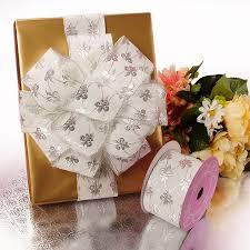 white velvet ribbon silver white fleur de lis velvet ribbon