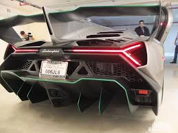 Lamborghini Veneno Back View - first lamborghini veneno in america front photo kris singh