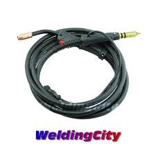 mig welding gun for miller m 150 m 15 free shipping