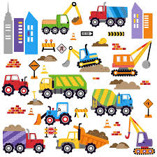 amazon com city construction decorative peel u0026 stick wall art