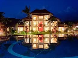 houses beautiful place colorful grass peaceful pool lights