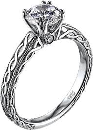 engraving engagement ring vintage collection rope engraved engagement ring this