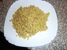 comment cuisiner le blé ebly avec oignons et lardons recettes cookeo