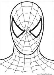 spiderman 012 coloring page spider man party pinterest