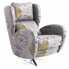Living Room Swivel Chairs Upholstered Trendy Living Room Swivel Chairs Upholstered Using Grey Vinyl