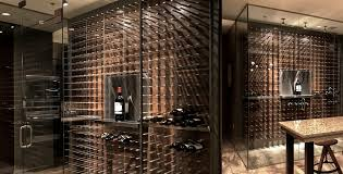 Walnut Wine Cabinet Modern Wine Cellars Belong In The Kitchen Not Hidden In A Dark