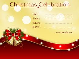 Christmas Party Invitations With Rsvp Cards - christmas invitation cards festival around the world