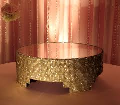 gold wedding cake stand 16 gold covered cake stand