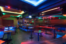 Nightclub Interior Design Nightclub Interior With Neon Lights Stock Photo Picture And