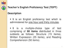 reading comprehension test ncae 5 2016 tept pst overview teacher s english proficiency test tept