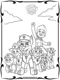 paw patrol coloring pages 3 coloring