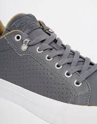 Comfortable Converse Shoes Converse Chuck Taylor All Star Fulton Leather Grey Men Shoes 1560821